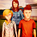 Real Virtual Mom Happy Family Game:Mother Sim 2020 icon