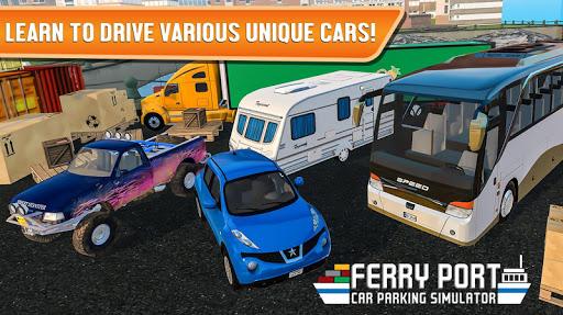 Ferry Port Trucker Parking Simulator apktram screenshots 15