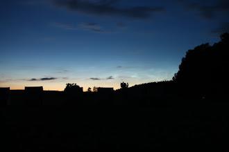 Photo: Noční svítící oblaka