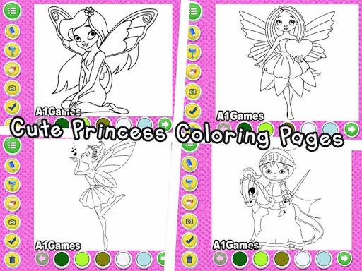 Indian Princess Doodle Colouring Book
