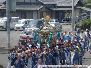 Photo: 【平成16年(2004) 本宮】 田中地区の氏子回り。