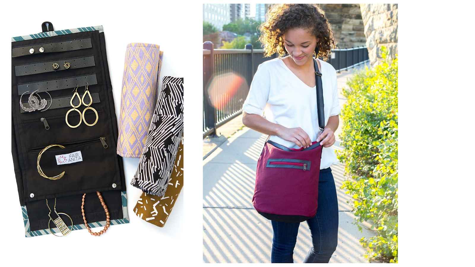 Sustainable fashion Upcycled Bags | Fair Anita