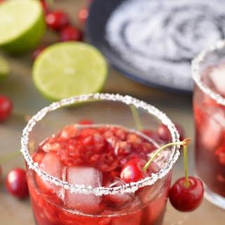 Tart Cherry Margaritas
