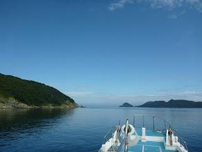 Photo: 五島の西側へ出ます。 ・・・まだ台風の影響はなく「ベタナギ」です。