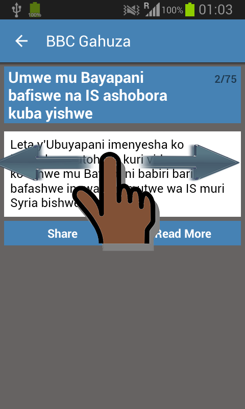 Burundi Newspapers- screenshot