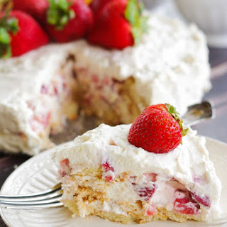Vanilla Wafer Cake Strawberries Recipes