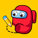 Puzzle Draw - Draw One Part Free Game icon