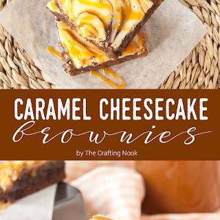 Salted Caramel Cheesecake Brownies