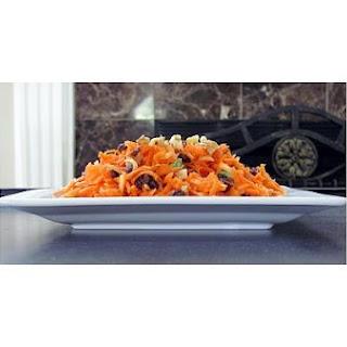Carrot Raisin Salad.