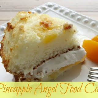 Pineapple Angel Food Cake Recipe - Easy, Low-Fat, and Delicious!.