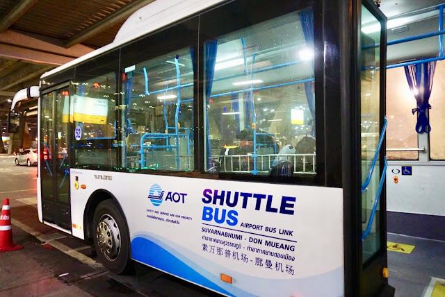 曼谷機場免費接駁巴士
