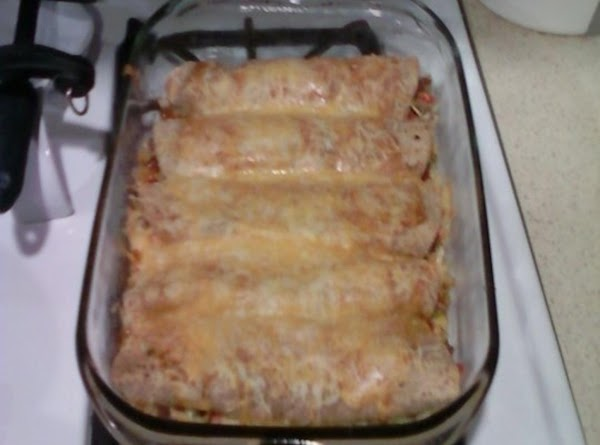 White Girl Enchiladas Recipe