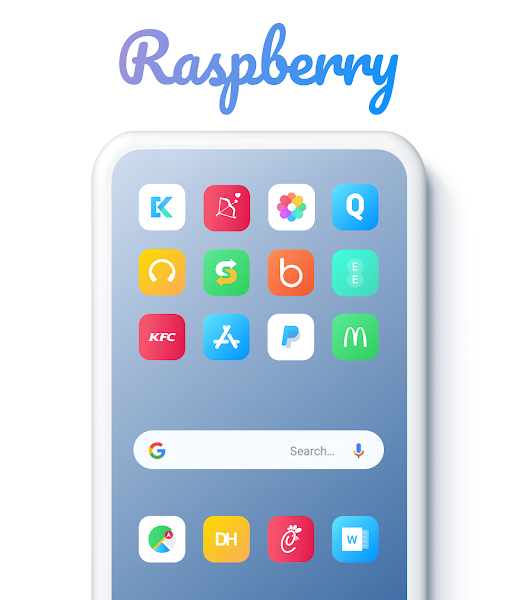 Download APK: Raspberry Icon Pack v0.1 [Patched] [SAP]