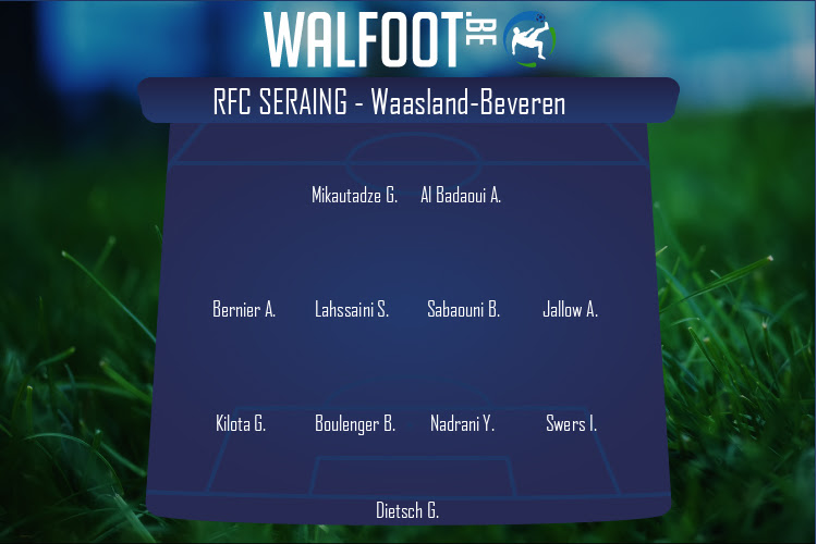 RFC Seraing (RFC Seraing - Waasland-Beveren)