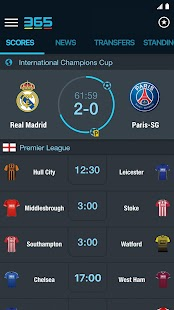 365Scores - Sports Scores Live Screenshot 1