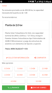 Solar Plant PV Calculator - náhled