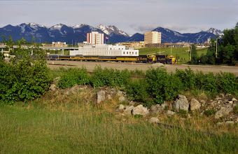 Photo: Anchorage, Alaska Railroad