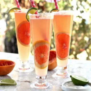 Refreshing Grapefruit Tequila Lime Spritzer.