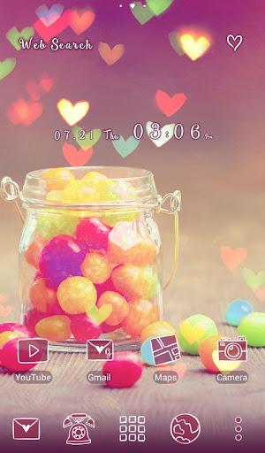 免費下載個人化APP|귀여운 테마 Rainbow Candy app開箱文|APP開箱王