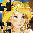 Puzzles princesas para pintar icon