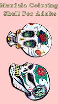 🌈 Skull Mandala  For Aduls 🌈 - screenshot thumbnail 03