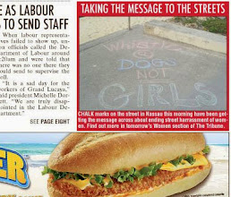 Photo: Hollaback! Bahamas Chalk Walk made the newspaper