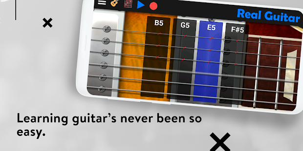 App Real Guitar - Guitar Playing Made Easy. APK for Windows Phone