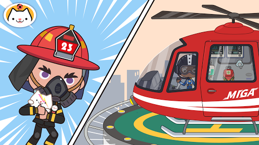 Miga Town: My Fire Station 1.2 screenshots 5