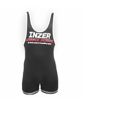 Inzer Lifting Singlet- Black
