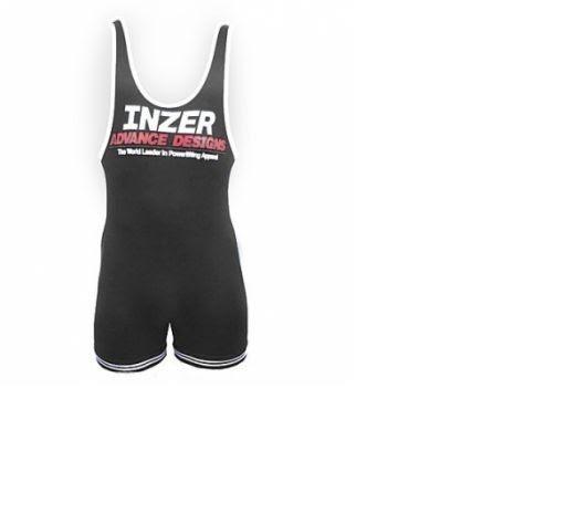 Inzer Lifting Singlet- Black