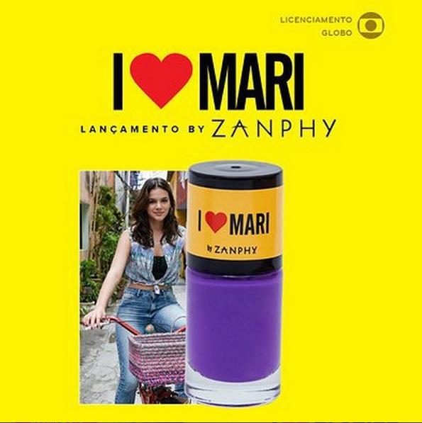 O esmalte roxo de Mari - Bruna Marquezine