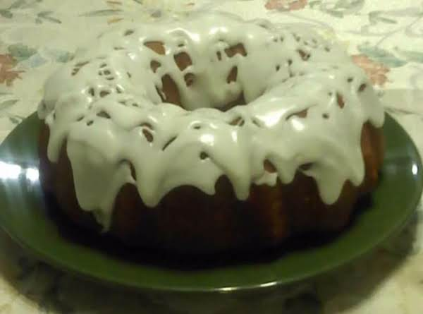 Lemon Glaze Pound Cake