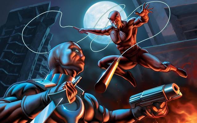 Daredevil Comics Tab