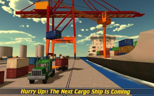 Cargo Ship Construction Crane