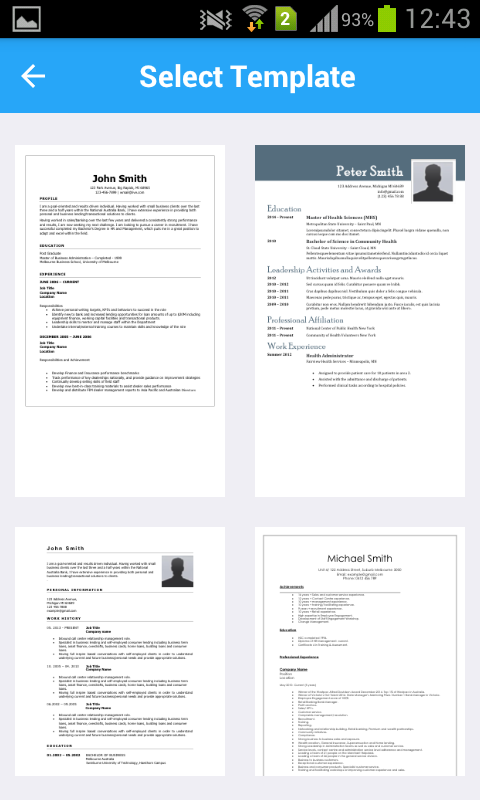 resume writer pro cv designer builder android apps on google