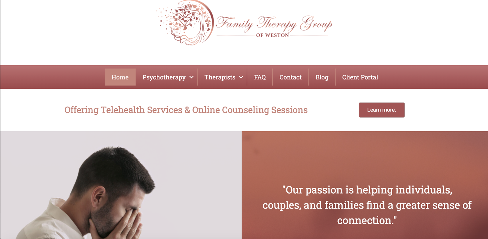 15 Of The Best Therapists Websites 44