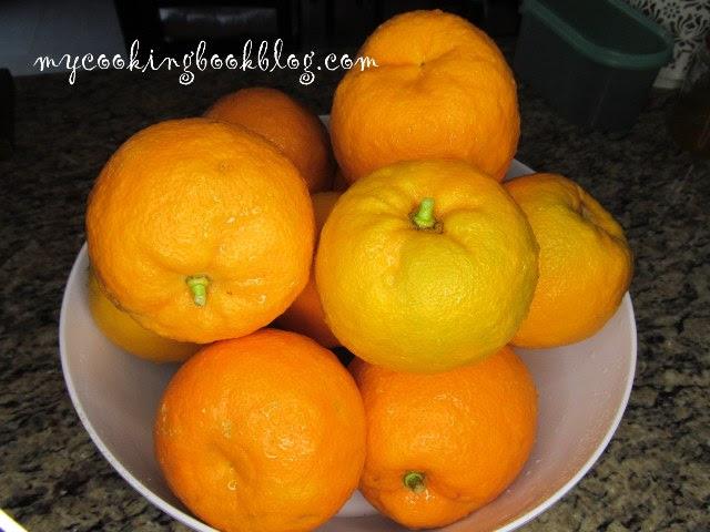 измитите горчиви портокали