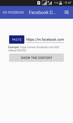 download video from facebook 1.2 screenshots 1