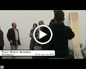 Video: 19 de març: Exposició i placa a Mónica Marambio (2)