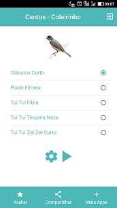 Cantos Coleirinho – Tuí Fibra, Zel Zel e Clássico. 1.0.7 Latest MOD APK 1