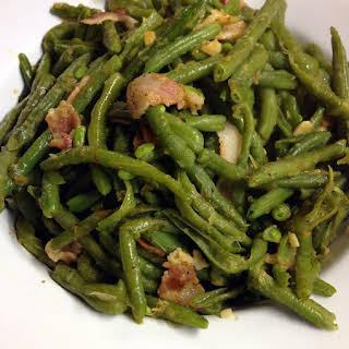 Bacon Garlic Green Beans.