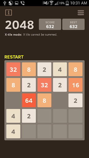 2048 Number puzzle game screenshot 3