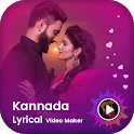 Kannada lyrical video maker - Kannada video maker icon