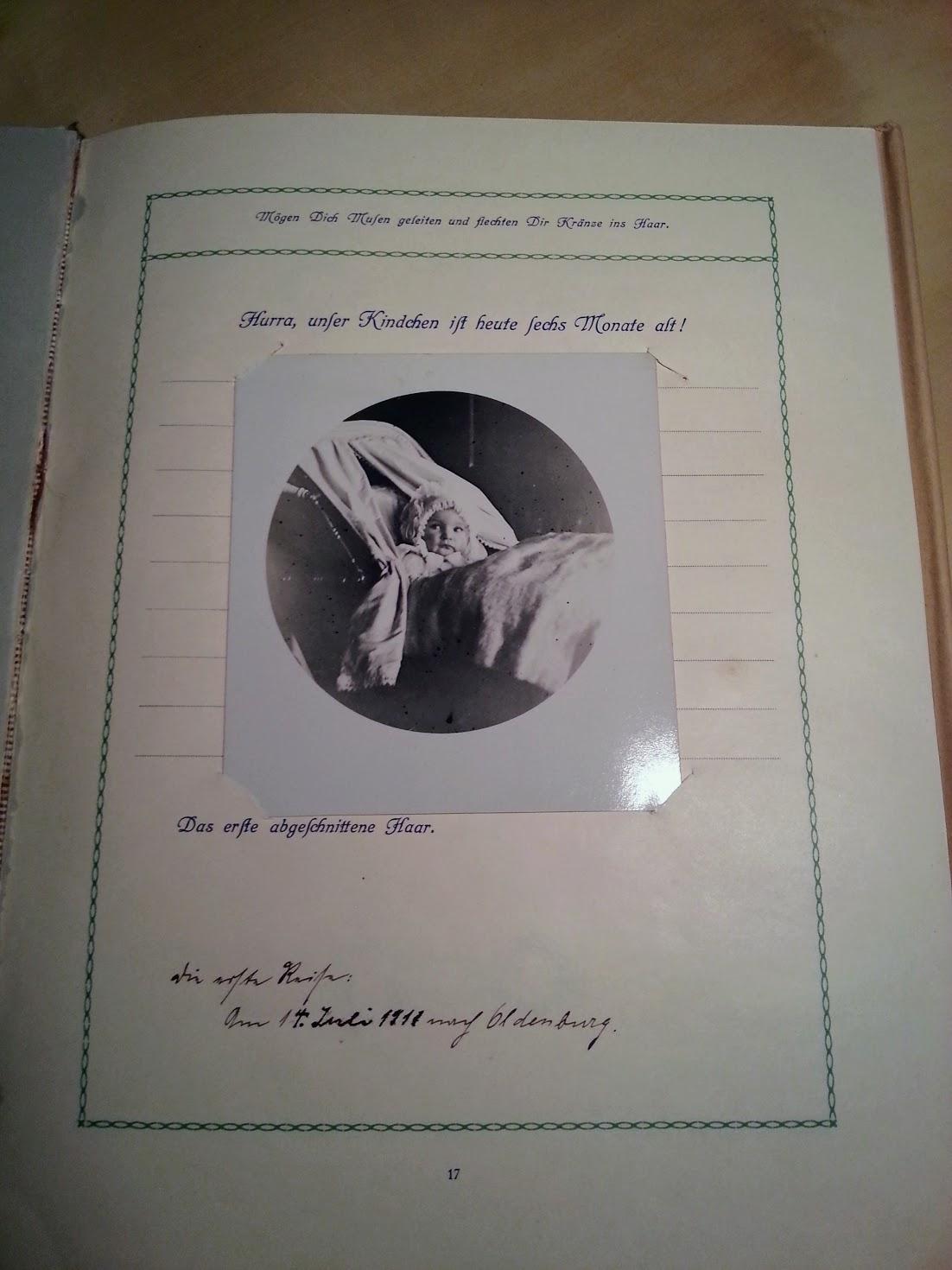 Unser Kind - Aufzeichnungen aus den ersten Lebensjahren - 1910