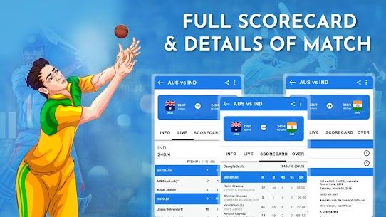 Crick Feed – Live Cricket score & Update 3