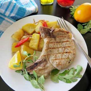 Brizola (Greek-style Pork Chops).