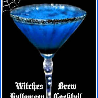 Witches Brew halloween Cocktail.
