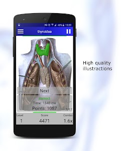 Anatomy Quiz screenshot 5