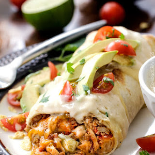 Baked Chicken Burritos Recipes