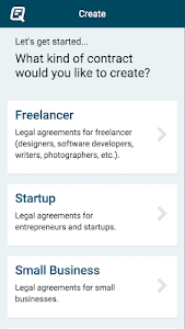 Quickly Legal - Contracts screenshot 0